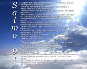 Salmo 91 completo católico