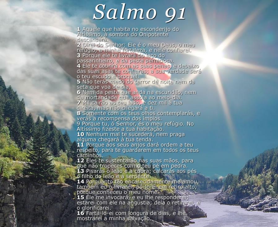 Top SALMO 91 Católico Completo { Oração Forte e Poderosa } BW95