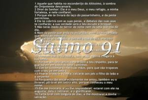imagem do salmo 91 católico completo original
