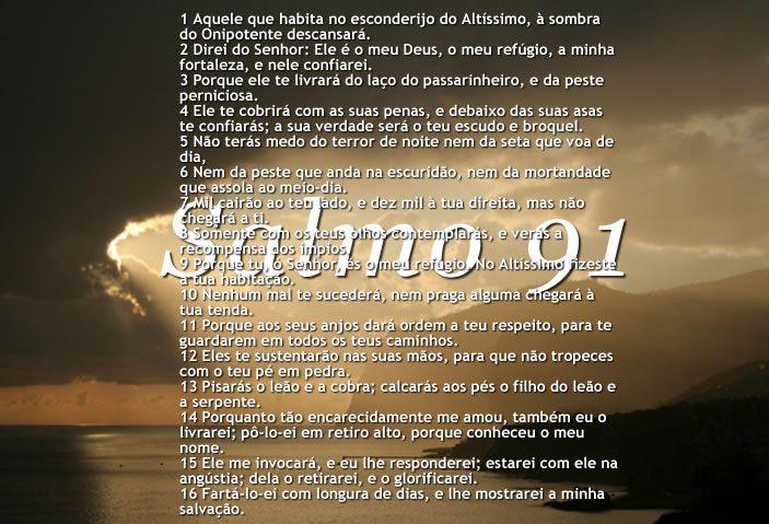 salmo 91 céu