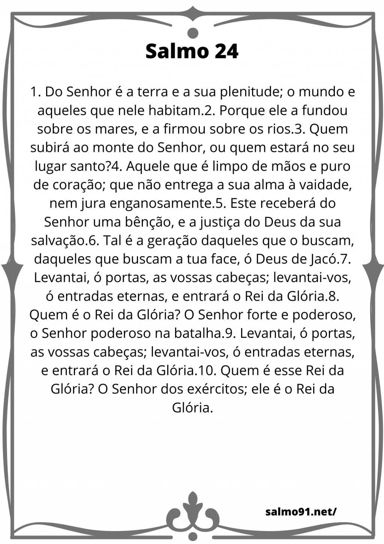 salmo 24 para imprimir